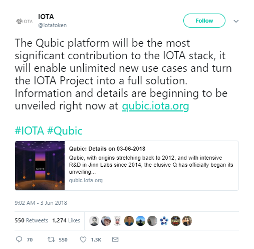 IOTA Price Prediction And Analysis: Qubic protocol finally announced! More details and more expectations. Price falls. Monday, June 4